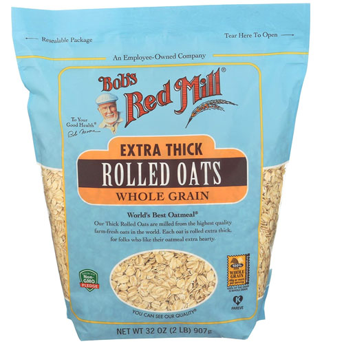 BOB'S RED MILL ROLLED OATS EXTRA THICK WHOLE GRAIN 32oz