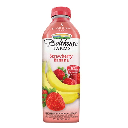 BOLTHOUSE FARMS JUICE STRAWBERRY BANANA 32oz