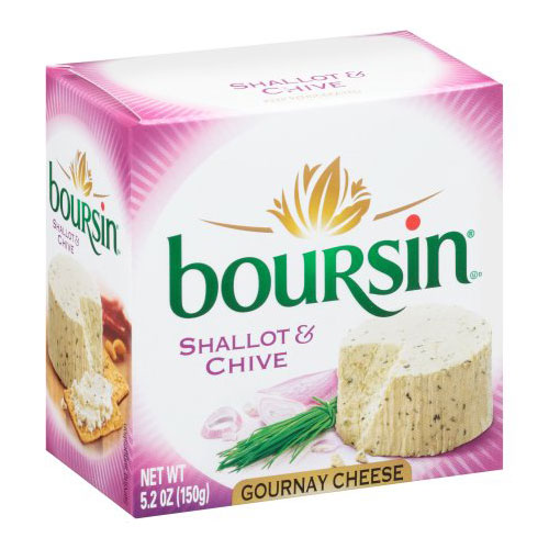 BOURSIN SHALLOT & CHIVE 5.2oz.