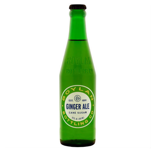 BOYLAN SODA GINGER ALE 12oz