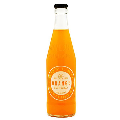 BOYLAN SODA ORANGE  12oz