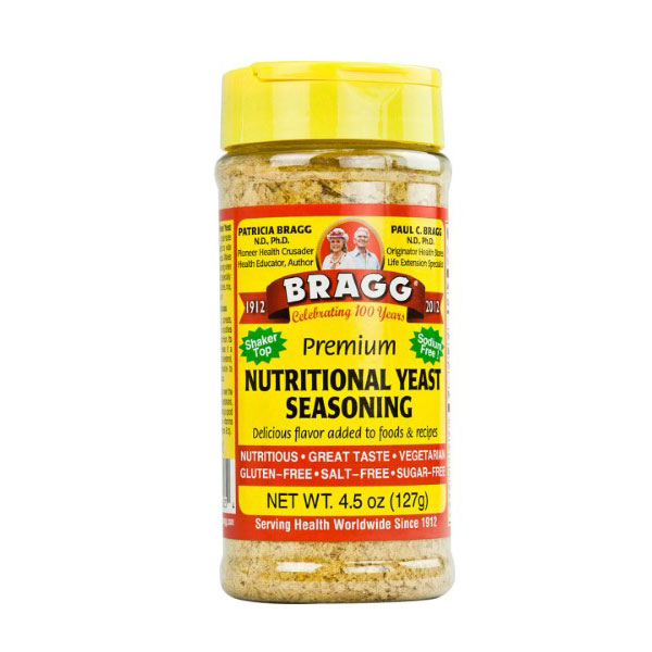 BRAGG NUTRITIONAL YEAST SEASONING 4.5oz