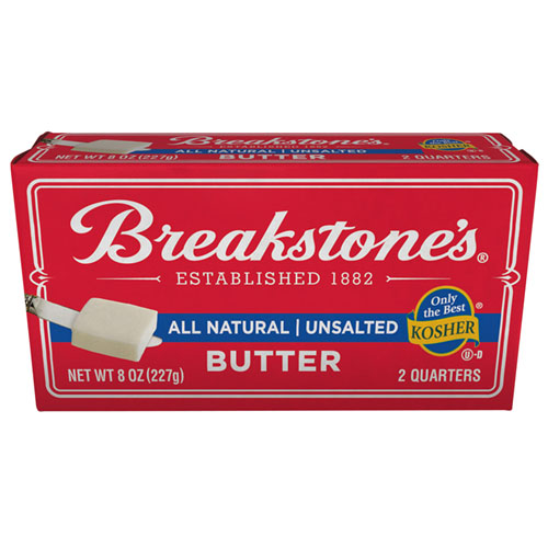 BREAKSTONES  BUTTER UNSALTED 8oz