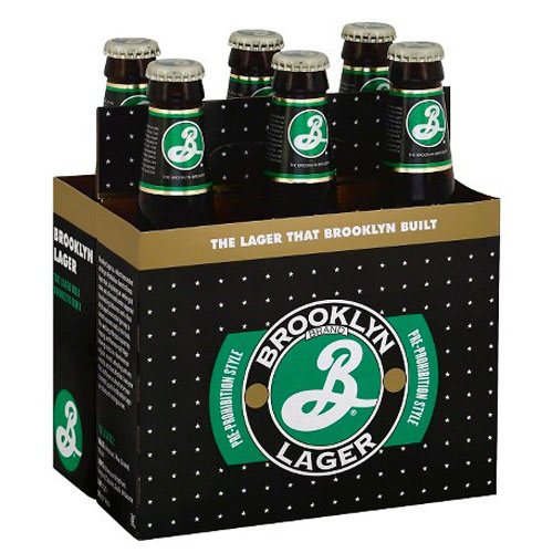 BROOKLYN LAGER 6pk 12oz.