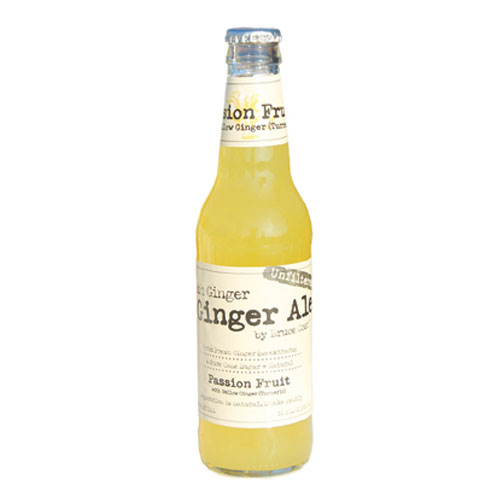 BRUCE COST GINGER ALE PASSION FRUIT 12oz