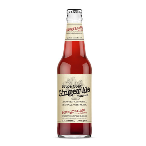 BRUCE COST GINGER ALE POMEGRANATE 12oz