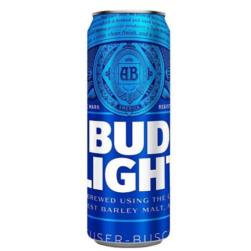 BUD LIGHT CAN 25oz