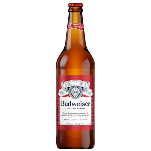 BUDWEISER BOTTLE 22oz