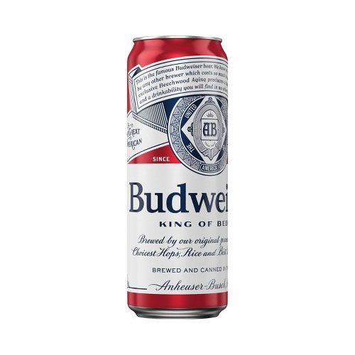 BUDWEISER CAN 24oz