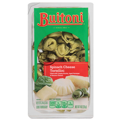 BUITONI SPINACH CHEESE TORTELLINI 9oz