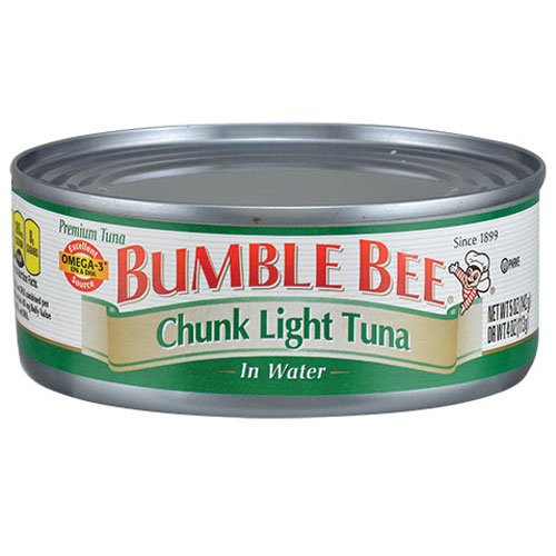 BUMBLE BEE CHUNK LIGHT TUNA IN WATER 5oz