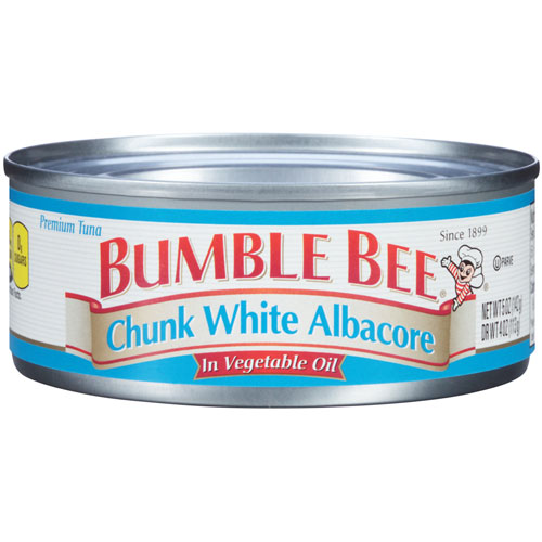 BUMBLE BEE  CHUNK WHITE ALBACORE IN WATER 5oz