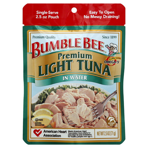 BUMBLE BEE LIGHT TUNA 2.5oz