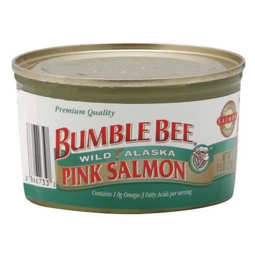 BUMBLE BEE PINK SALMON 7.5oz