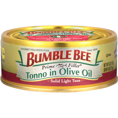 BUMBLE BEE TONNO IN OLIVE OIL 5oz