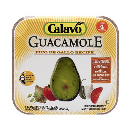 CALAVO GUACAMOLE PICO DE GALLO 12oz