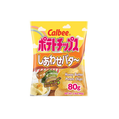 CALBEE HONEY BUTTER POTATO CHIPS 2.8oz