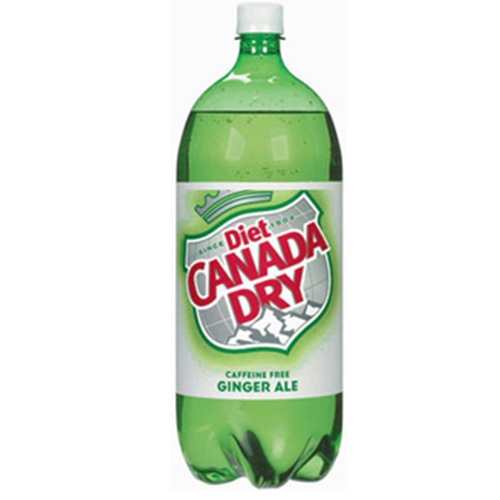 CANADA DRY DIET GINGER ALE 1lt