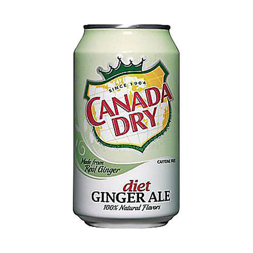 CANADA DRY GINGER ALE DIET 12oz