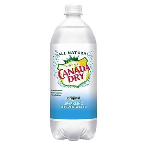 CANADA DRY SPARKLING SELTZER WATER ORIGINAL 1L