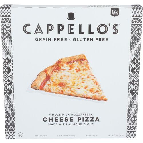 CAPPELLO'S ALMOND FLOUR CRUST GRAIN FREE CHEESE PIZZA 11oz