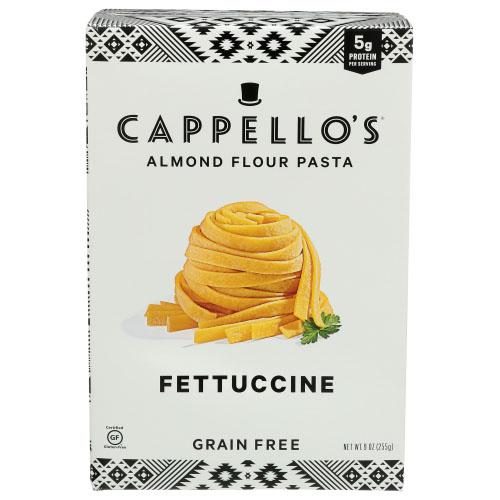 CAPPELLO'S ALMOND FLOUR PASTA GRAIN FREE FETTUCCINE 9oz