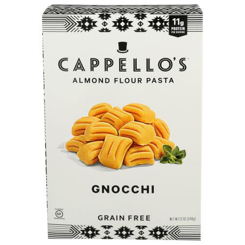 CAPPELLO'S ALMOND FLOUR PASTA GRAIN FREE GNOCCHI 12oz