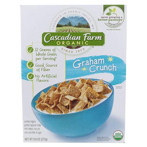 CASCADIAN FARM CEREAL GRAHAM CRUNCH 9.6oz