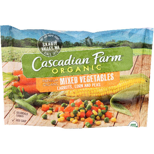 CASCADIAN FARM MIXED VEGETABLES 16oz