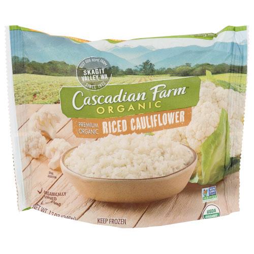CASCADIAN FARM ORG RICE RICED CAULIFLOWER 12oz