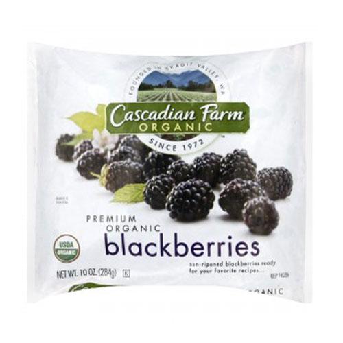 CASCADIAN FARM ORGANIC BLACKBERRIES 10oz