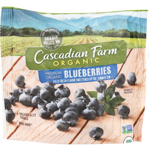 CASCADIAN FARM ORGANIC BLUEBERRIES 8oz