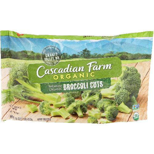 CASCADIAN FARM ORGANIC BROCCOLI CUTS 16oz