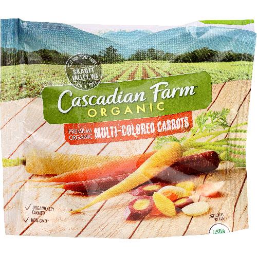 CASCADIAN FARM ORGANIC CARROTS MULTI 16oz