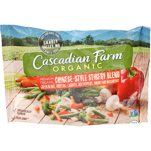 CASCADIAN FARM ORGANIC CHINESE-STYLE STIRFRY BLEND 16oz