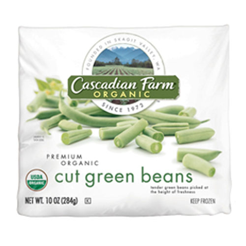 CASCADIAN FARM ORGANIC CUT GREEN BEAN 10oz