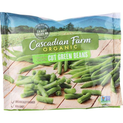 CASCADIAN FARM ORGANIC CUT GREEN BEANS 10oz