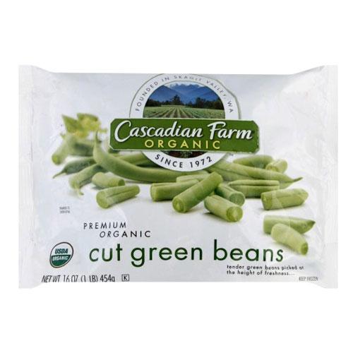 CASCADIAN FARM ORGANIC CUT GREEN BEANS 16oz