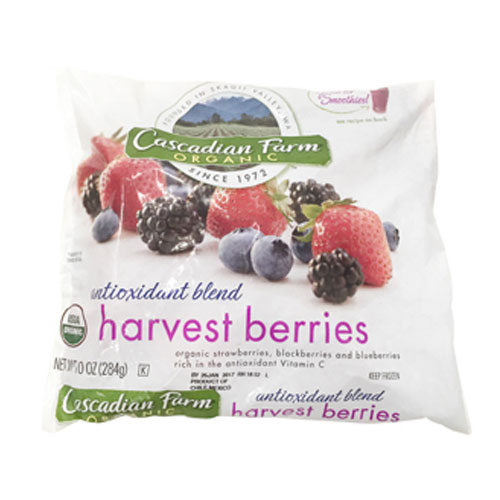 CASCADIAN FARM ORGANIC HARVEST BERRIES 10oz