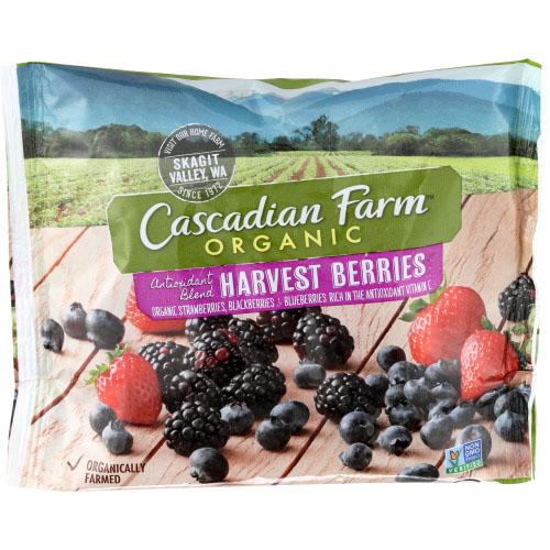 CASCADIAN FARM ORGANIC HARVEST BERRIES 10oz
