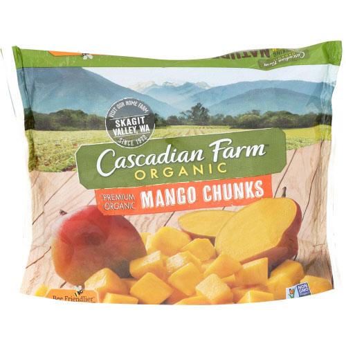 CASCADIAN FARM ORGANIC MANGO CHUNKS 10oz