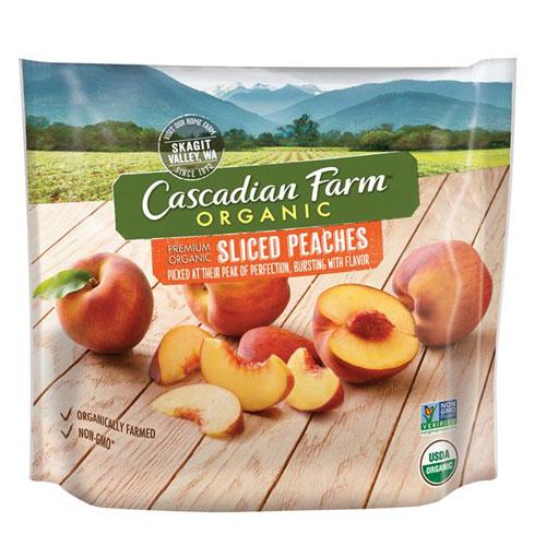 CASCADIAN FARM ORGANIC PEACH 10oz