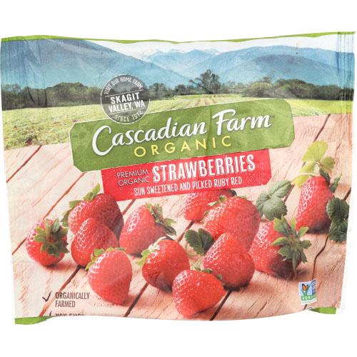 CASCADIAN FARM ORGANIC STRAWBERRY 10oz