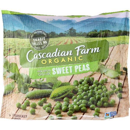 CASCADIAN FARM ORGANIC SWEET PEAS 10oz
