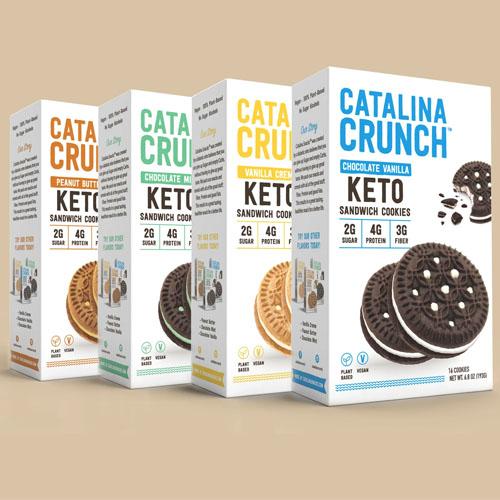 CATALINA CRUNCH KETO SANDWICH COOKIES 6.8oz