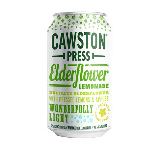 CAWSTON PRESS SPARKLING ELDERFLOWER LEMONADE 11.15oz
