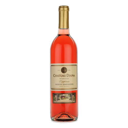 CHATEAU DIANA WINERY WHITE ZINFANDEL 750ML