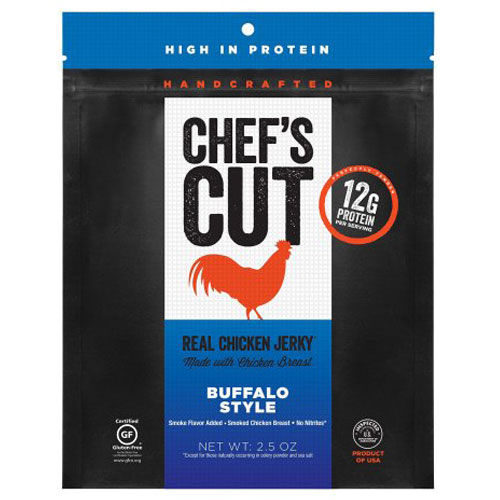 CHEF'S CUT CHICKEN JERKY BUFFALO STYLE 2.5oz