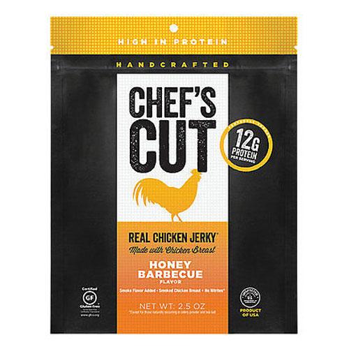 CHEFS CUT JERKY CHICKEN HONEY BBQ 2.5oz