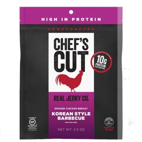 CHEF'S CUT SMOKED CHICKEN BREAST KOREAN STYLE BARBEQUE 2.5oz